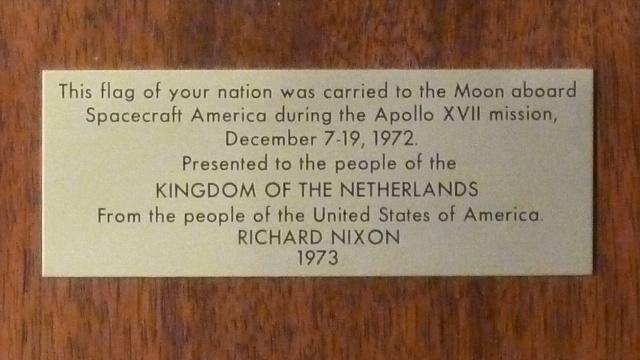 Plaque Apollo 17 tag 2
