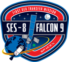 Falcon-9_SES-8_mission-patch