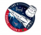 CRS-5 Mission patch