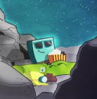 Philae on commet